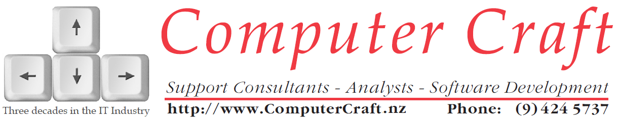 Advertisement for Computer Craft